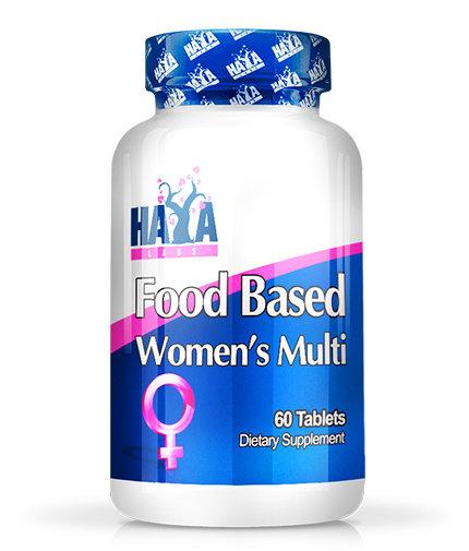 Витамини за жени с билки и супер храни Food Based Womens Multi HAYA 60 таблетки
