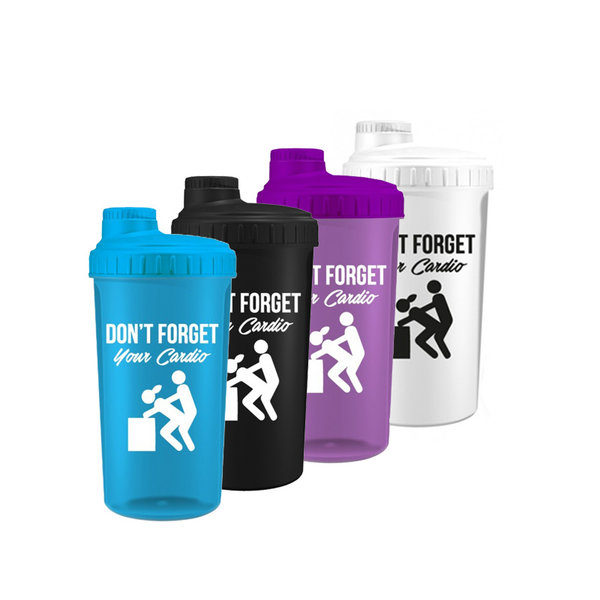 Фитнес шейкър Dont Forget Your Cardio KFD 700ml
