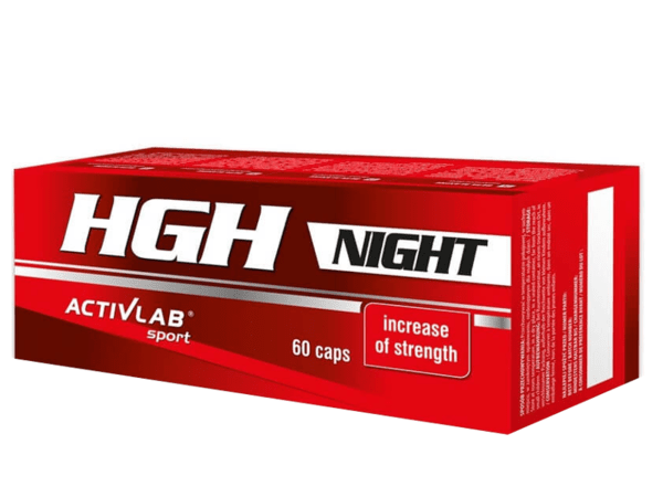 HGH Night ActivLab 60 капсули
