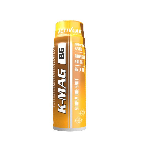 Магнезий Калий и Витамин B6 K-MAG B6 ActivLab 12 шота х 80ml