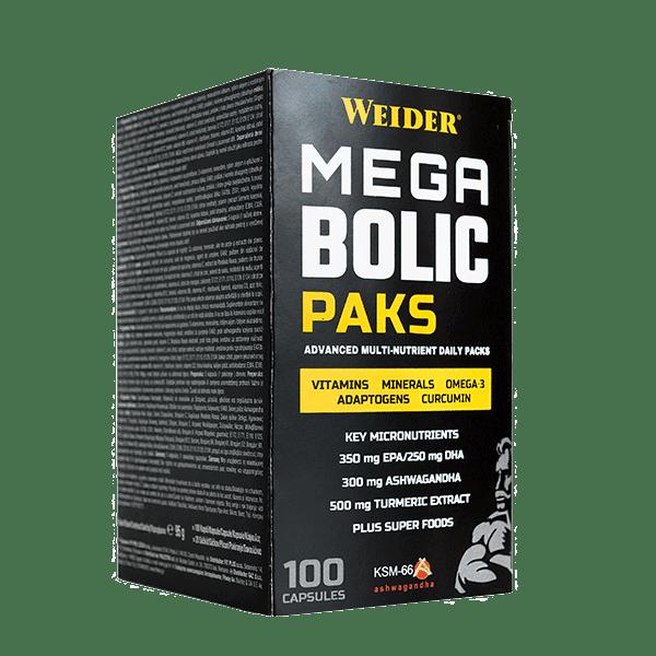 Витамини за спортисти MEGABOLIC Packs Weider 100 капсули