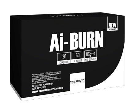 Термогенен Фет Бърнър Ai-BURN YAMAMOTO 120 капсули