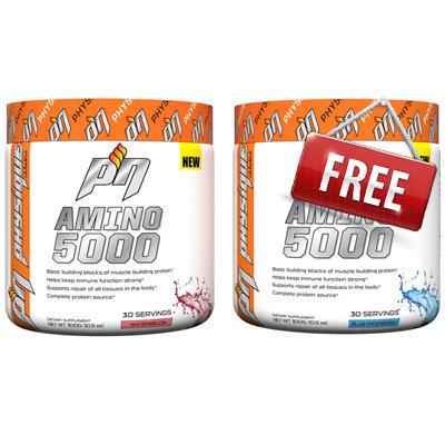 1+1 БЕЗПЛАТНО Amino 5000 PHYSIQUE Nutrition 300гр + 300гр ПОДАРЪК