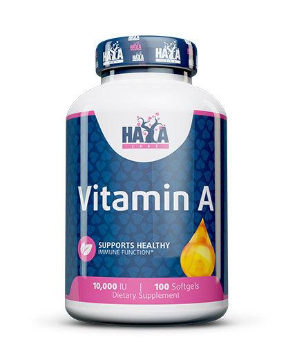 Витамин A 10 000 IU HAYA 100 таблетки