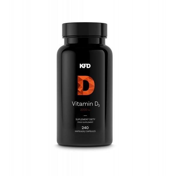 Витамин D3 2000 KFD 240 Капсули