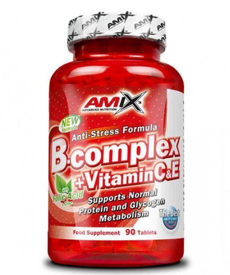 Витамин B-Комплекс + Витамин C & E 90 Таблетки