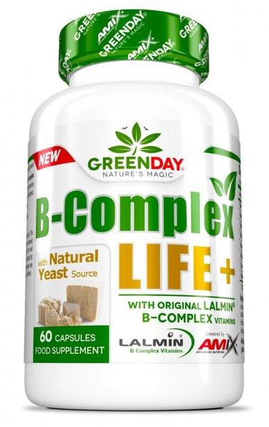Витамин B-Комплекс LIFE+ AMIX 60 капсули