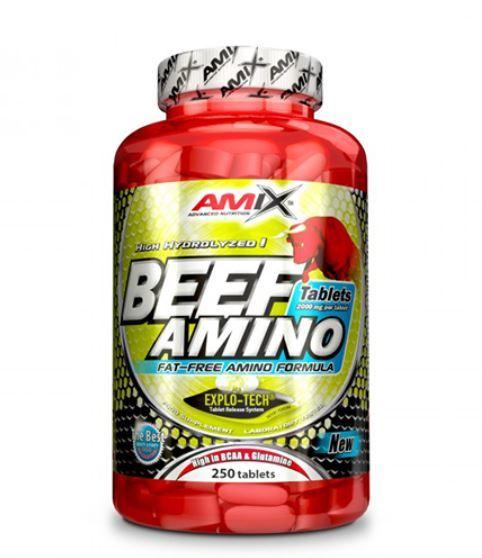 Телешки Аминокиселини Beef Amino AMIX 250 таблетки