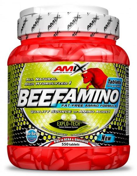 Телешки Аминокиселини Beef Amino AMIX 550 таблетки