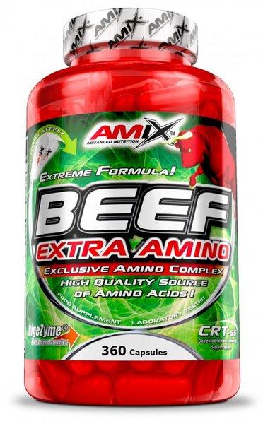 Телешки Аминокиселини Beef Extra Amino AMIX 198 Капсули