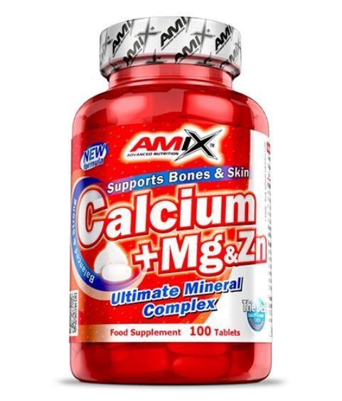 Калций + Магнезий & Цинк AMIX 100 таблетки