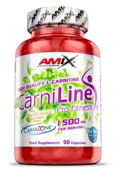 Л-Карнитин CarniLine 1500 mg AMIX 90 капсули