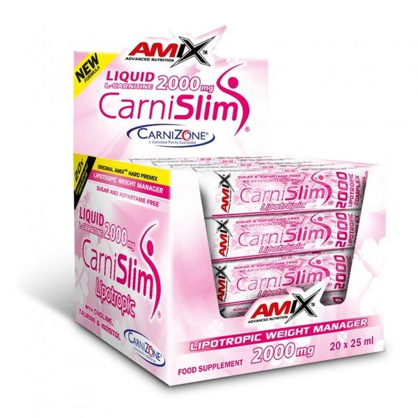 Течен Л-Карнитин CarniSlim AMIX 20 шота x 25 ml