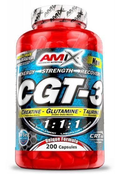 Креатин с Глутамин и Таурин CGT-3 AMIX 200 капсули