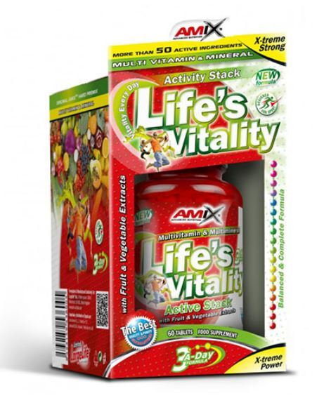 Life's Vitality Active Stack AMIX 60 таблетки