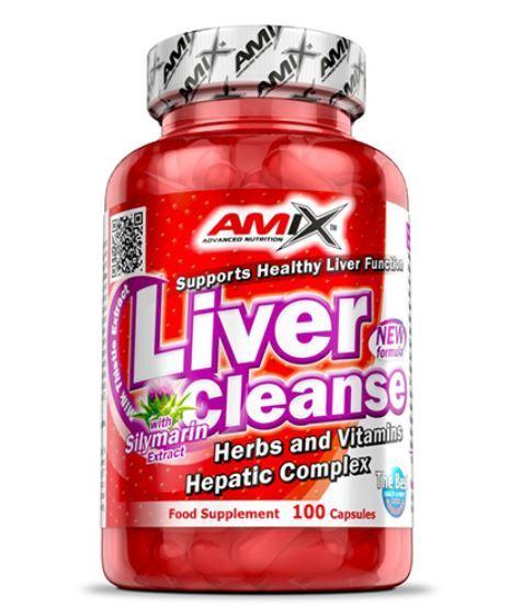 Комплекс за Черен Дроб Liver Cleanse AMIX 100 таблетки