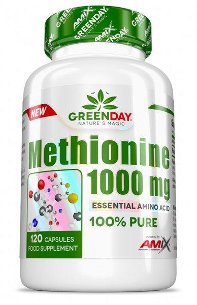 Метионин Methionine 1000 mg AMIX 120 капсули