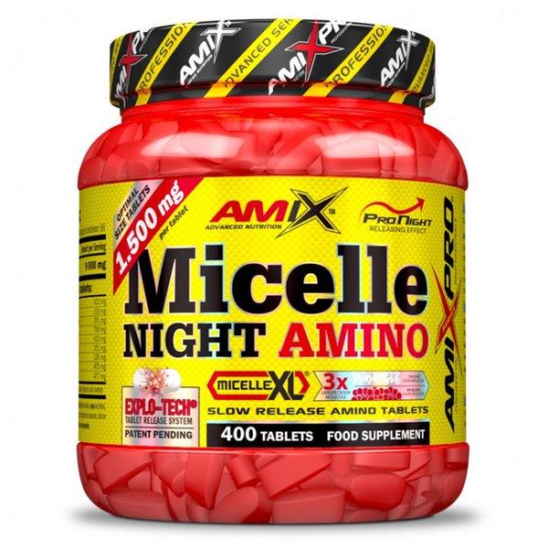 Аминокиселини Micelle Night Amino AMIX 400 таблетки