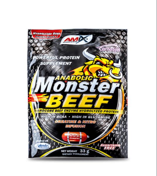 Телешки протеин Monster Beef Protein AMIX 330 грама