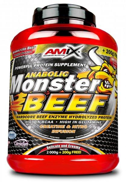 Телешки протеин Monster Beef Protein AMIX 2200 грама
