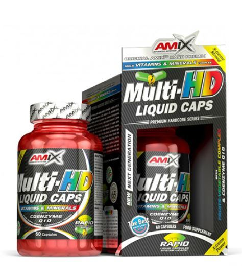 Мулти Комплекс Multi-HD Liquid Caps AMIX 60 капсули