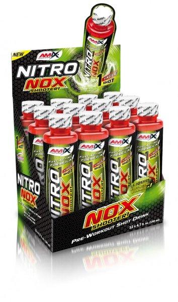 Азотен Бустер NitroNox Shooter AMIX 12 шота x 140 ml
