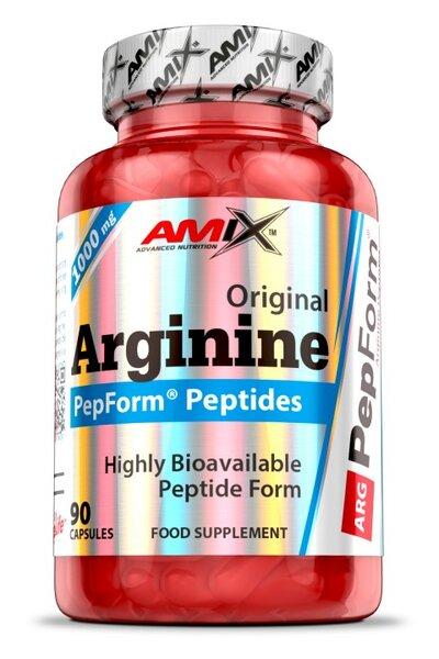 Аргинин PepForm Arginine Peptides AMIX 90 капсули