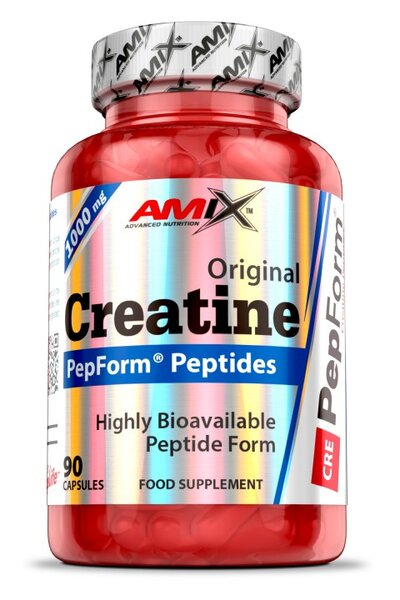 Креатин Монохидрат PepForm Creatine Peptides AMIX 90 капсули