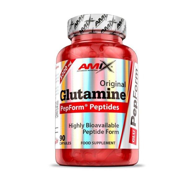 Глутамин PepForm Glutamine Peptides AMIX 90 капсули
