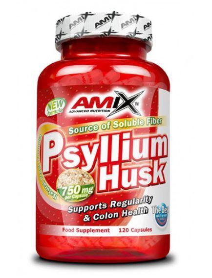 Растителни Фибри Psyllium Husk AMIX 120 капсули