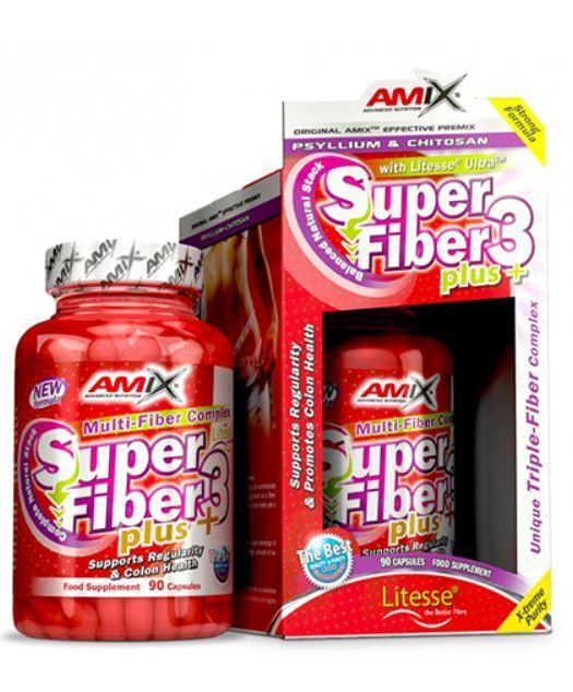 Растителни Фибри Super Fiber3 Plus AMIX 90 капсули