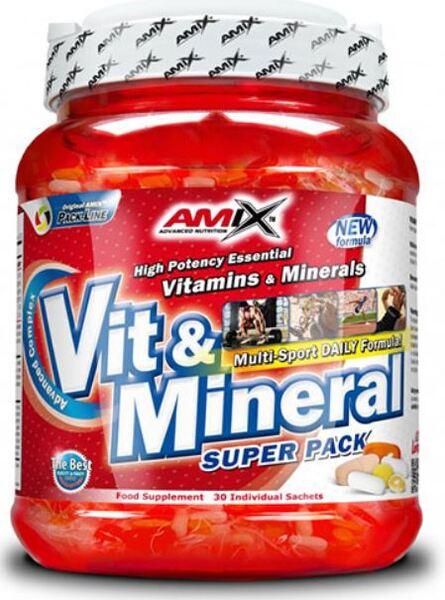 Комплекс Витамини и Минерали Super Vit-Mineral Pack 30 пакетчета
