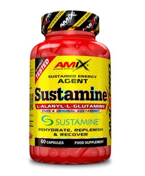 L-Аланил L-Глутамин Sustamine AMIX 60 капсули