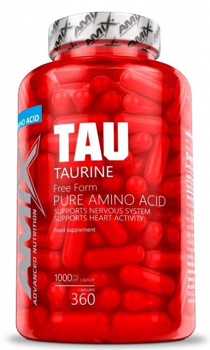 Таурин Taurine AMIX 120 капсули-Copy