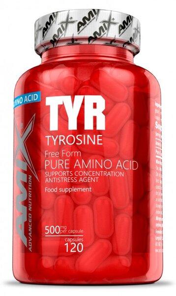 L-Тирузин Tyrosine AMIX 120 капсули
