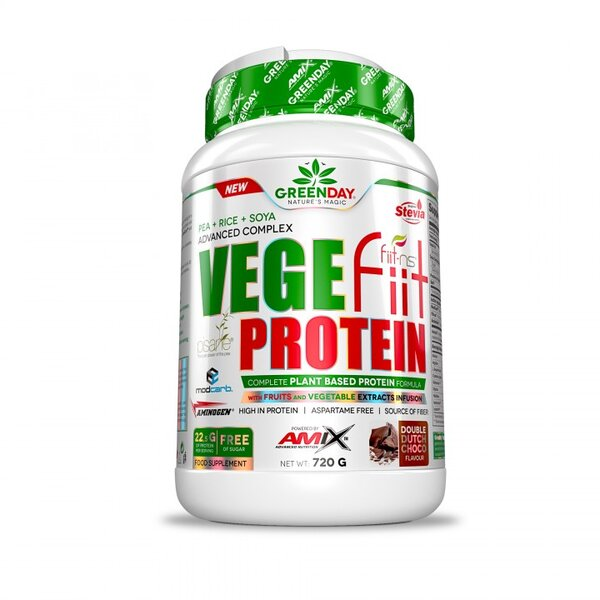 Растителен Протеин Изолат Vegefiit Protein AMIX 720 грама