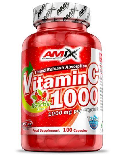 Витамин C 1000 mg AMIX 100 капсули