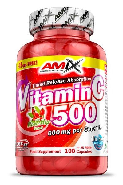 Витамин C 500 mg AMIX 125 капсули