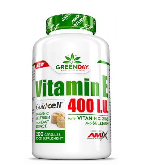 Витамин E 400 I.U. LIFE+ AMIX 200 капсули
