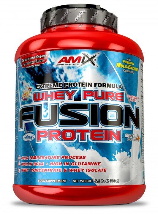 Суроватъчен Протеин Whey Pure Fusion AMIX 1000 грама-Copy