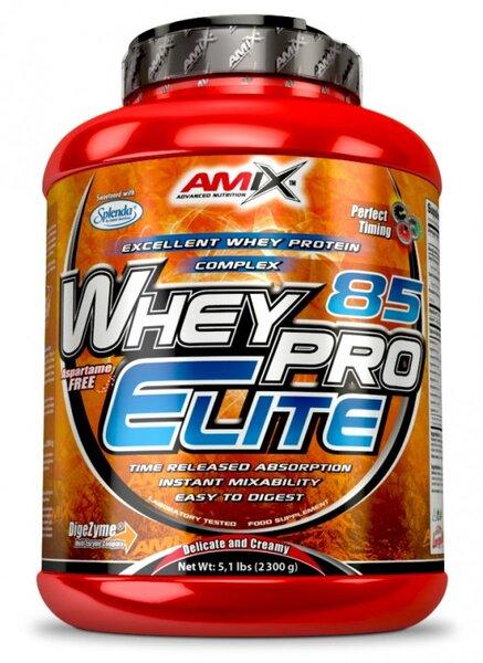 Суроватъчен Протеин Изолат WheyPro Elite 85 AMIX 2300 грама