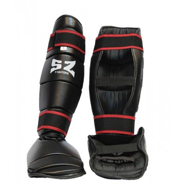 Протектор за крака SZ Fighters Черен