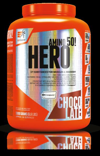 Всичко в едно HERO AMINO 50 EXTRIFIT 3000 грама