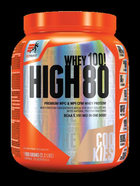 Суроватъчен Протеин Изолат HIGH WHEY 80 EXTRIFIT 1000 грама