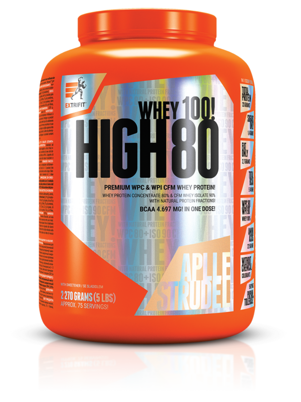 Суроватъчен Протеин Изолат HIGH WHEY 80 EXTRIFIT 1000 грама-Copy