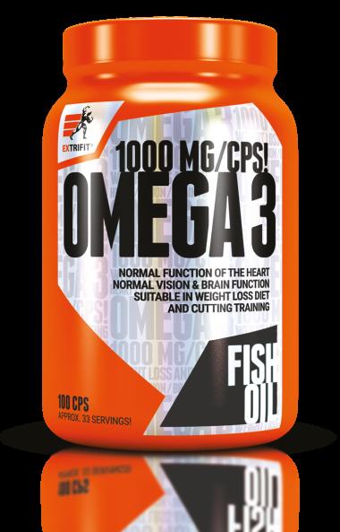 Омега 3 Рибено масло EXTRIFIT 100 Капсули