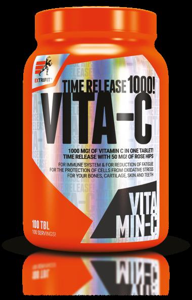 Витамин C + Екстракт от Шипки EXTRIFIT 1000mg 100 таблетки