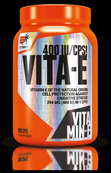 Витамин E 400 IU EXTRIFIT 100 капсули