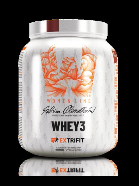 Суроватъчен Протеин За Жени Whey3 Woman Line EXTRIFIT 1000 грама
