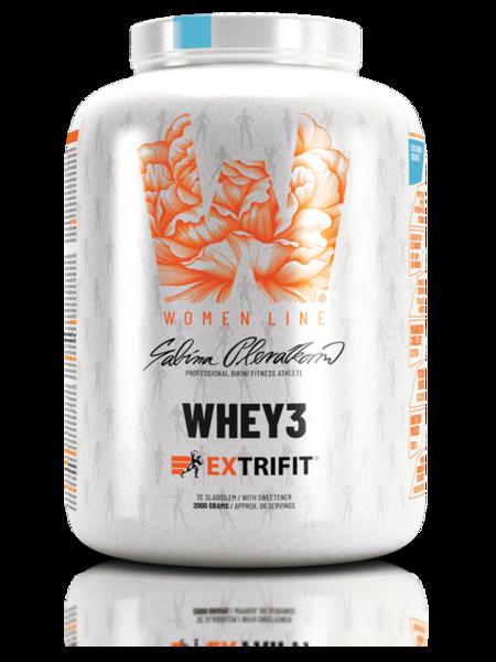 Суроватъчен Протеин За Жени Whey3 Woman Line EXTRIFIT 2000 грама